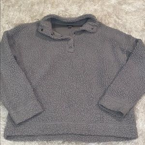 Aerie XS Sherpa crew neck